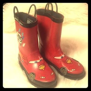 "Walt Disney ""Lightning McQueen"" Boots"
